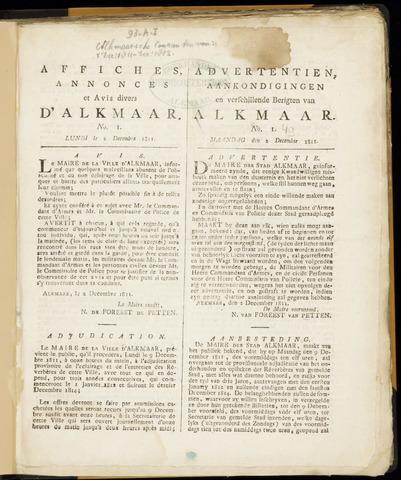 Alkmaarsche Courant 1811-12-02