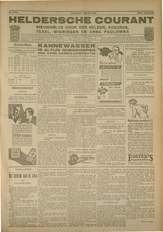Heldersche Courant 1930-03-01