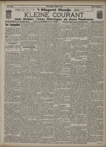 Vliegend blaadje : nieuws- en advertentiebode voor Den Helder 1910-03-02