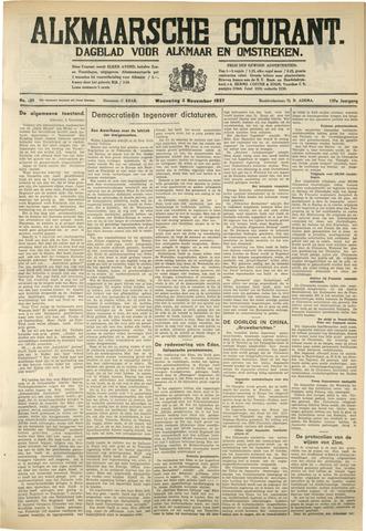 Alkmaarsche Courant 1937-11-03