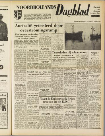 Noordhollands Dagblad : dagblad voor Alkmaar en omgeving 1954-02-22