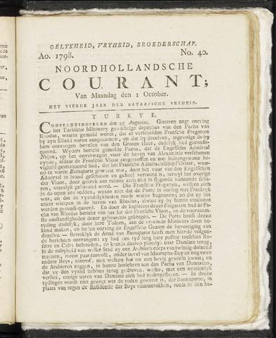 Noordhollandsche Courant 1798-10-01