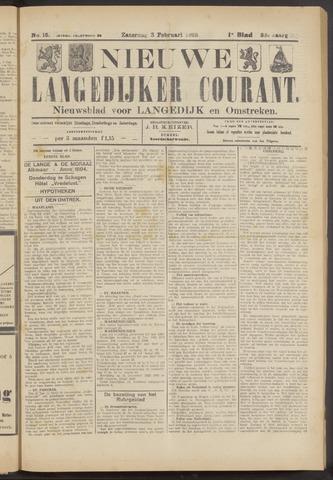 Nieuwe Langedijker Courant 1923-02-03