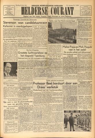 Heldersche Courant 1952-07-26
