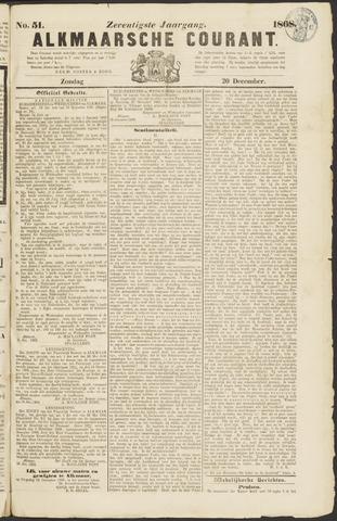 Alkmaarsche Courant 1868-12-20