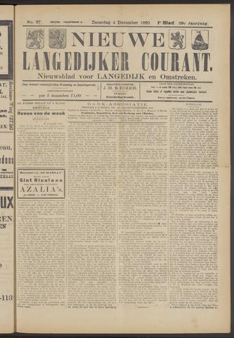 Nieuwe Langedijker Courant 1920-12-04