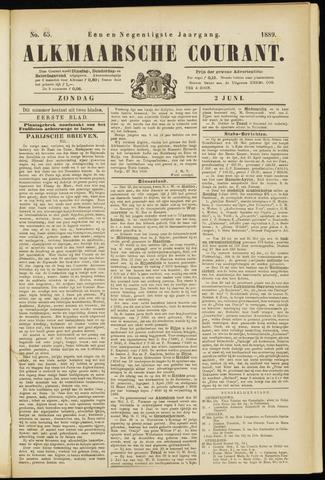 Alkmaarsche Courant 1889-06-02