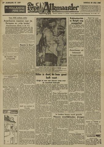 De Vrije Alkmaarder 1949-07-26