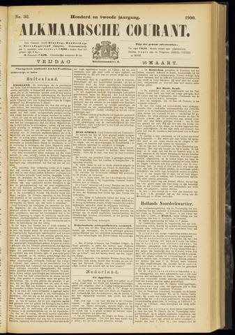 Alkmaarsche Courant 1900-03-16