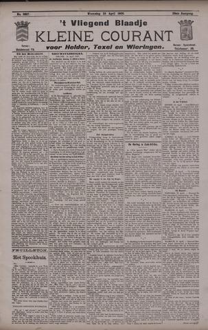 Vliegend blaadje : nieuws- en advertentiebode voor Den Helder 1900-04-25