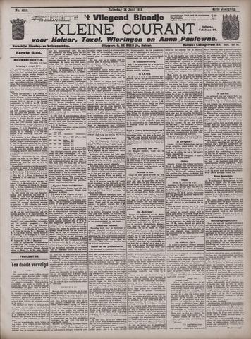 Vliegend blaadje : nieuws- en advertentiebode voor Den Helder 1913-06-14