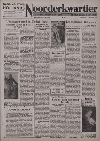 Dagblad voor Hollands Noorderkwartier 1942-01-13