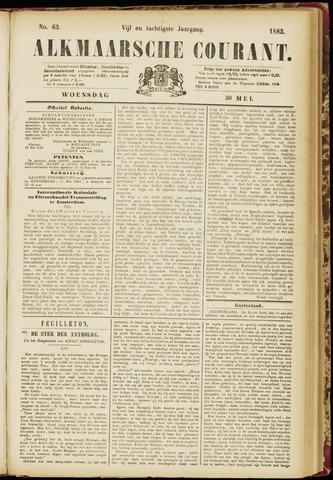 Alkmaarsche Courant 1883-05-30