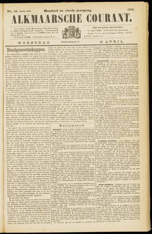 Alkmaarsche Courant 1902-04-16