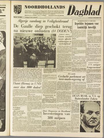 Noordhollands Dagblad : dagblad voor Alkmaar en omgeving 1960-12-13