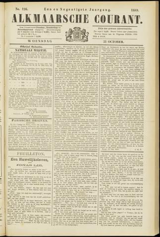 Alkmaarsche Courant 1889-10-23