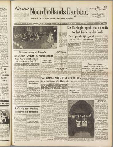 Nieuw Noordhollandsch Dagblad : voor Alkmaar en omgeving 1950-05-06