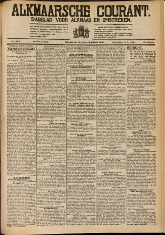 Alkmaarsche Courant 1930-09-23
