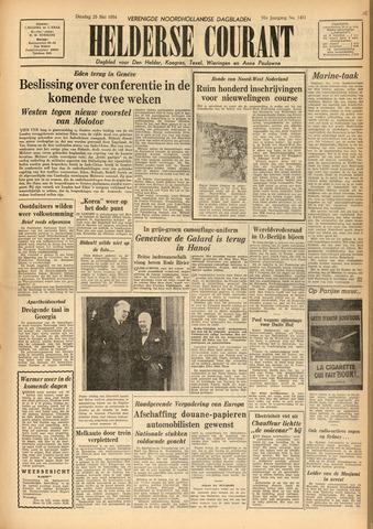 Heldersche Courant 1954-05-25