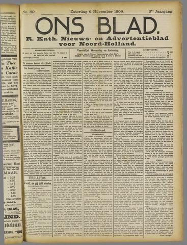 Ons Blad : katholiek nieuwsblad voor N-H 1909-11-06