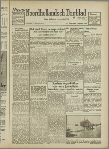 Nieuw Noordhollandsch Dagblad : voor Alkmaar en omgeving 1946-02-12