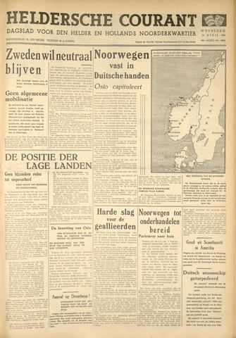 Heldersche Courant 1940-04-10