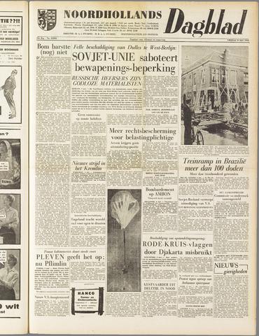 Noordhollands Dagblad : dagblad voor Alkmaar en omgeving 1958-05-09