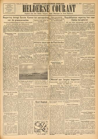 Heldersche Courant 1949-04-22