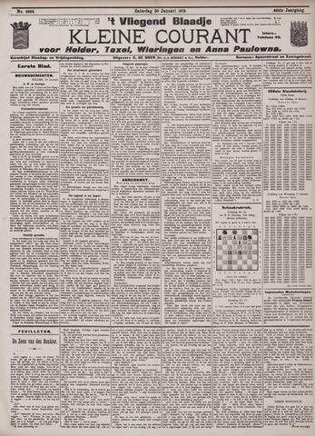 Vliegend blaadje : nieuws- en advertentiebode voor Den Helder 1912-01-20