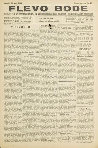 Flevo-bode: nieuwsblad voor Wieringen-Wieringermeer 1946-04-27
