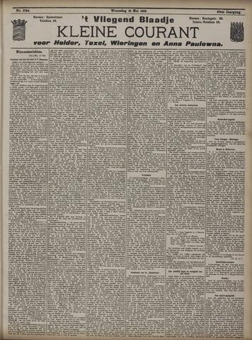 Vliegend blaadje : nieuws- en advertentiebode voor Den Helder 1909-05-19
