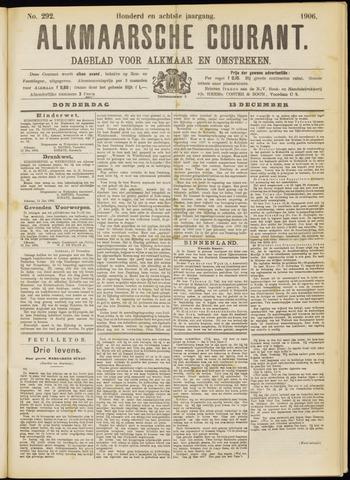 Alkmaarsche Courant 1906-12-13