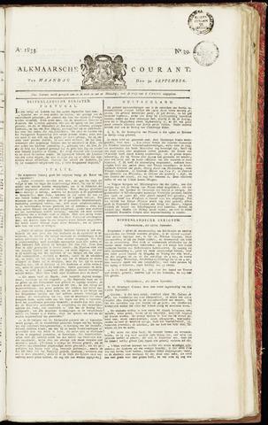 Alkmaarsche Courant 1833-09-30