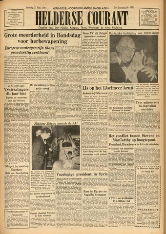 Heldersche Courant 1954-02-27