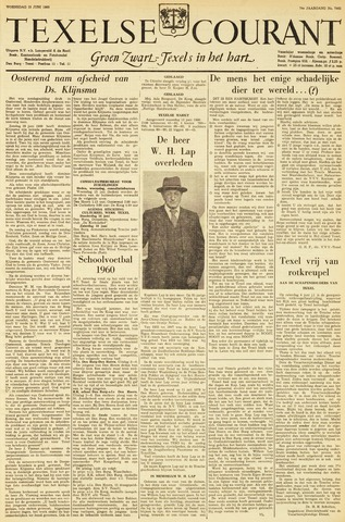 Texelsche Courant 1960-06-15