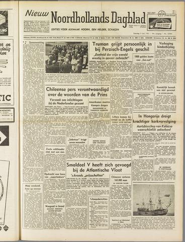 Nieuw Noordhollandsch Dagblad : voor Alkmaar en omgeving 1951-06-02