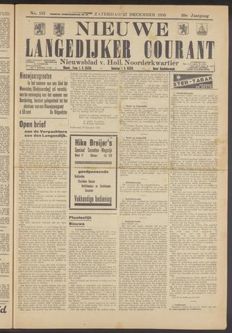 Nieuwe Langedijker Courant 1930-12-27