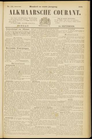 Alkmaarsche Courant 1899-09-24