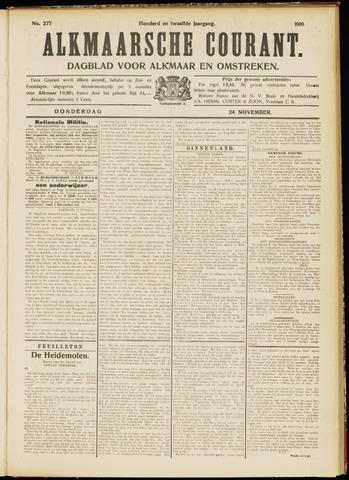 Alkmaarsche Courant 1910-11-24