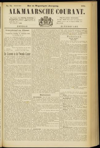 Alkmaarsche Courant 1894-02-25