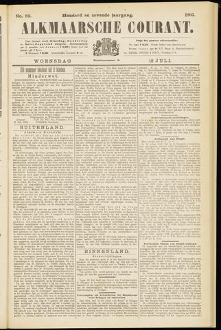 Alkmaarsche Courant 1905-07-12