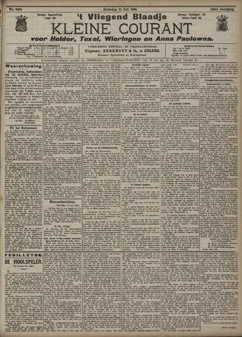 Vliegend blaadje : nieuws- en advertentiebode voor Den Helder 1906-07-21