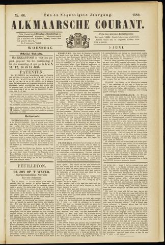 Alkmaarsche Courant 1889-06-05