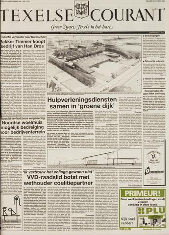Texelsche Courant 2002-10-25