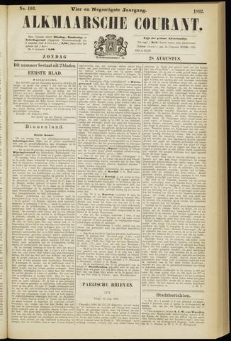 Alkmaarsche Courant 1892-08-28