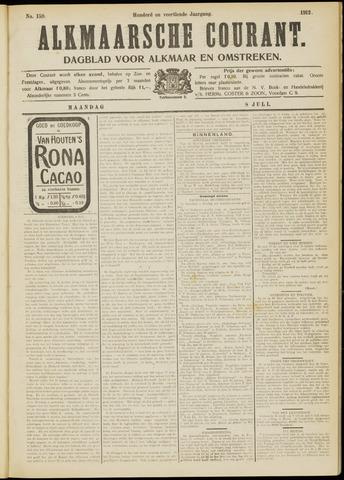 Alkmaarsche Courant 1912-07-08