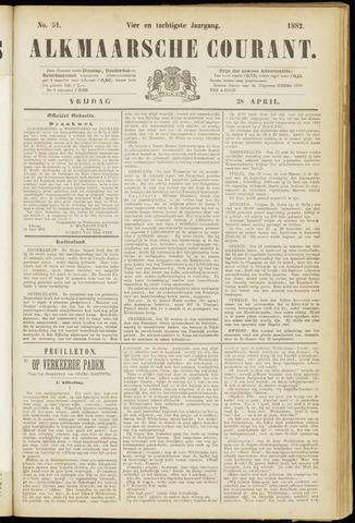 Alkmaarsche Courant 1882-04-28