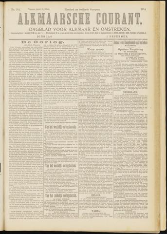 Alkmaarsche Courant 1914-12-01