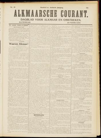 Alkmaarsche Courant 1911-02-25