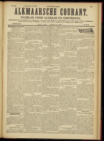 Alkmaarsche Courant 1928-06-27
